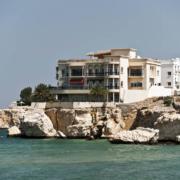 Muscat strandhuisje