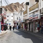 Muscat winkelstraat