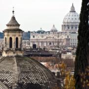 Uitzicht Villa Borghese